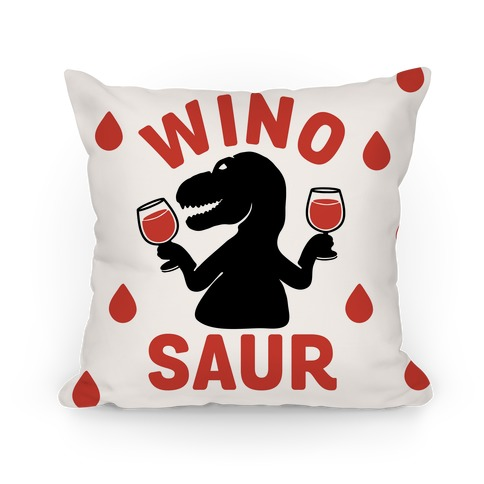 Winosaur  Pillow
