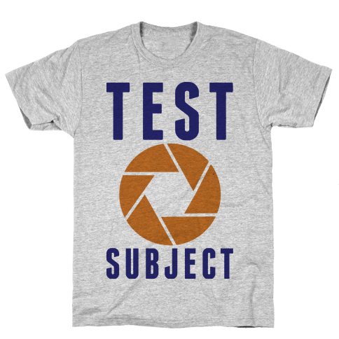 Test Subject Mens T-Shirt