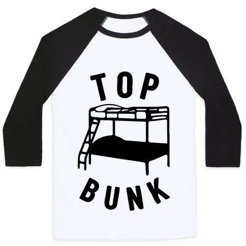Top Bunk Baseball Tee