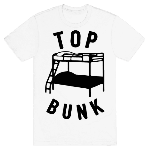Top Bunk Mens T-Shirt