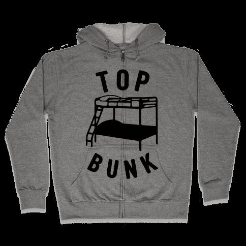 Top Bunk Zip Hoodie