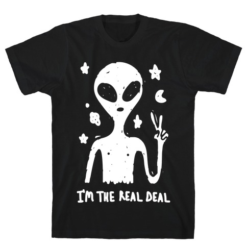 I'm The Real Deal Mens T-Shirt