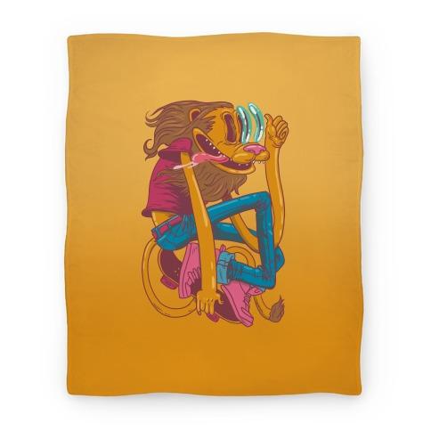 Rad Lion Blanket