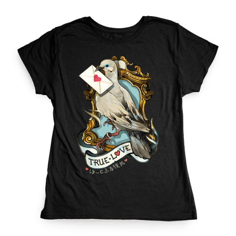 Pigeon Boyfriend Womens T-Shirt