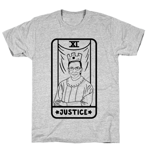 Ruth Bader Ginsburg Justice Tarot Mens T-Shirt