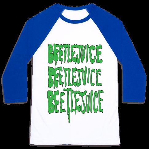 Beetlejuice Baseball Tee