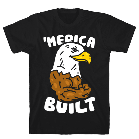 'Merica Built Mens T-Shirt