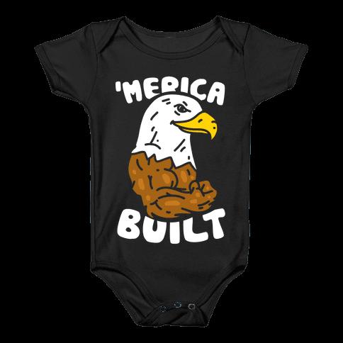 'Merica Built Baby Onesy