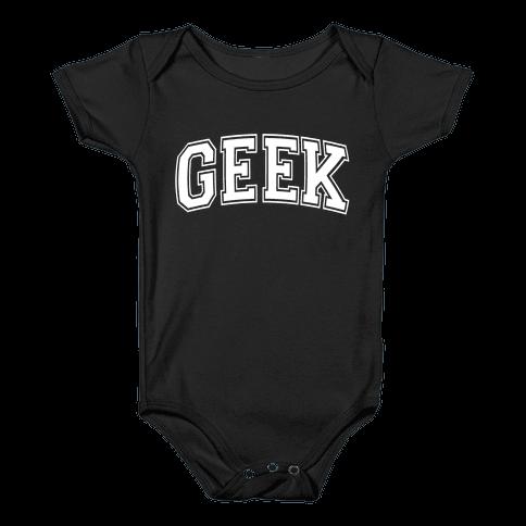 Geek Baby Onesy
