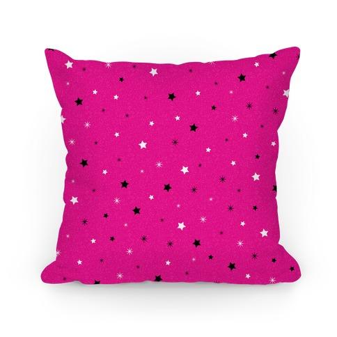 Twinkling Stars Pattern Pillow