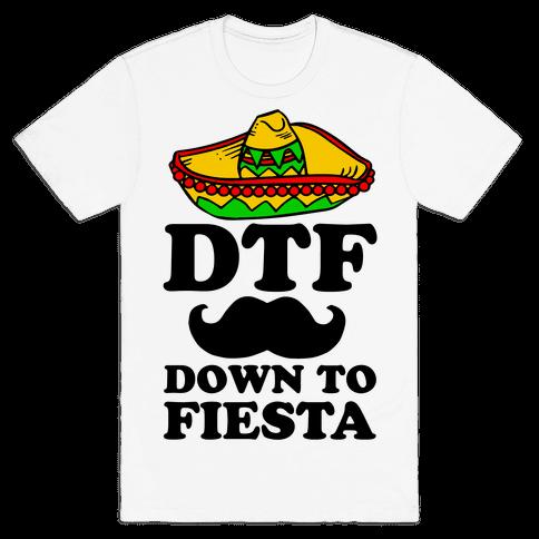 DTF Mens T-Shirt
