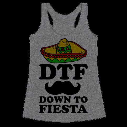 DTF Racerback Tank Top