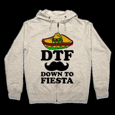 DTF Zip Hoodie