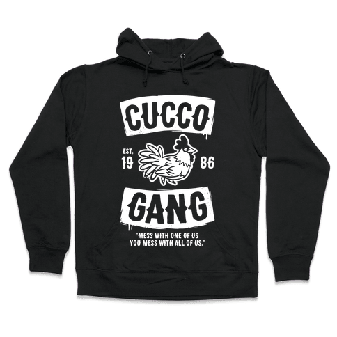 Cucco Gang Hooded Sweatshirt