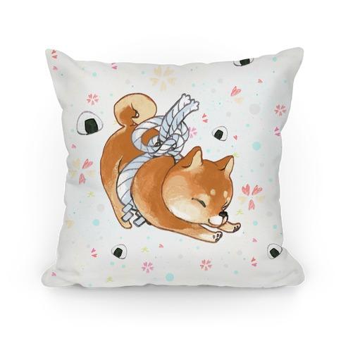 Shiba Inu Dog Pillow