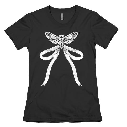 Moth Bow Womens T-Shirt