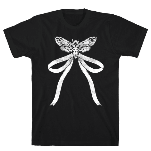 Moth Bow Mens T-Shirt