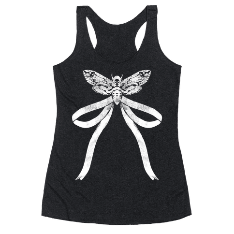 Moth Bow Racerback Tank Top