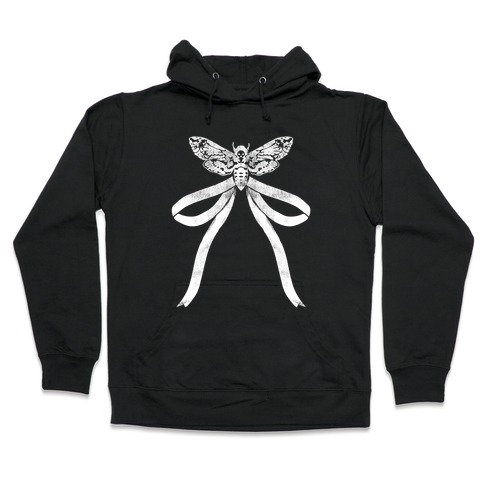Moth Bow Hooded Sweatshirt