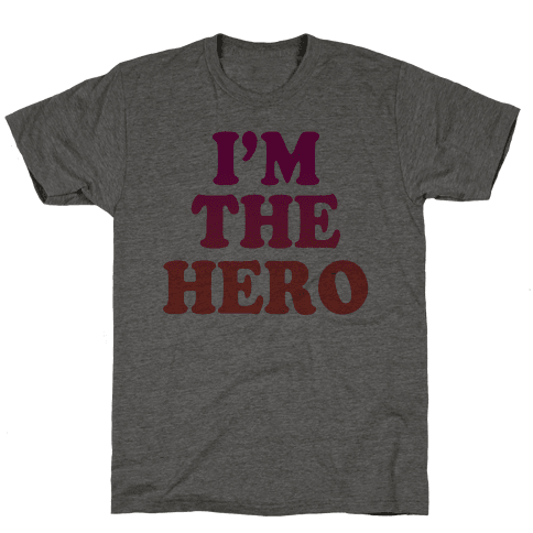 Hero & Comedic Relief (Part 1) Mens T-Shirt