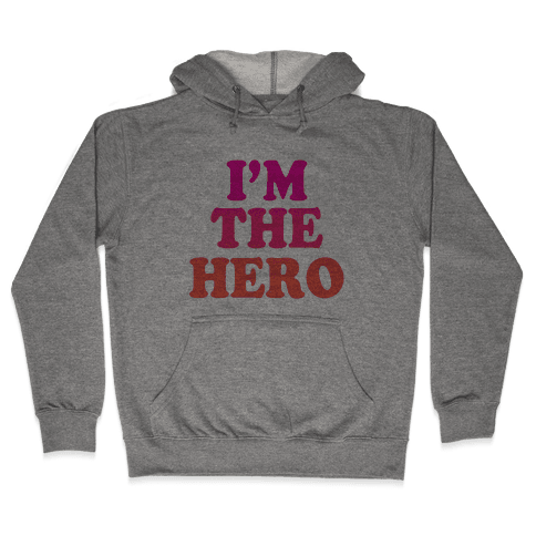Hero & Comedic Relief (Part 1) Hooded Sweatshirt