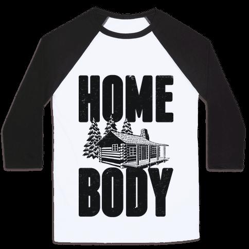Home Body Baseball Tee