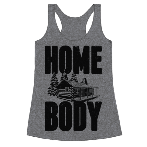 Home Body Racerback Tank Top