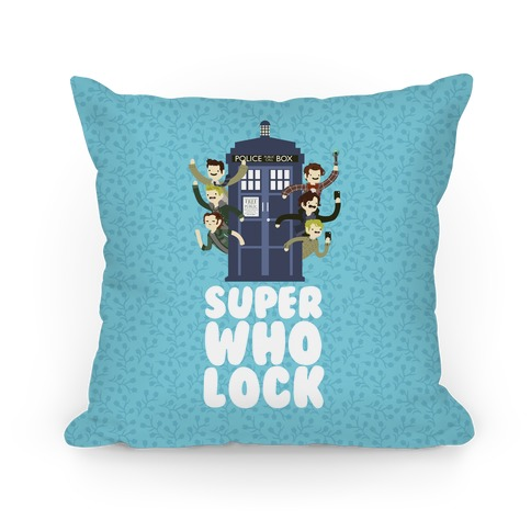Superwholock Pillow
