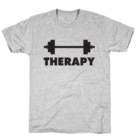 Therapy Mens T-Shirt