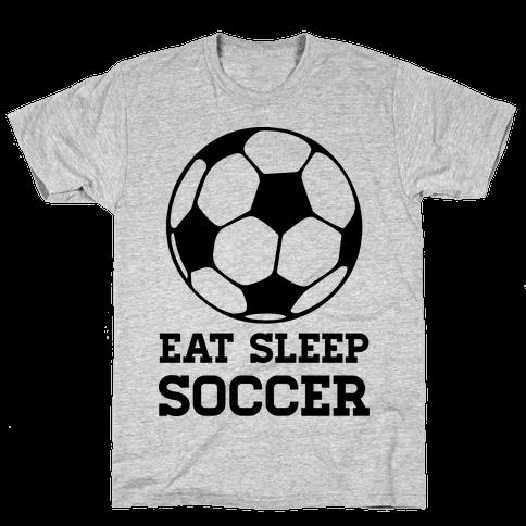 Eat Sleep Soccer Mens T-Shirt