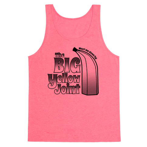 The Big Yellow Joint Tank Top