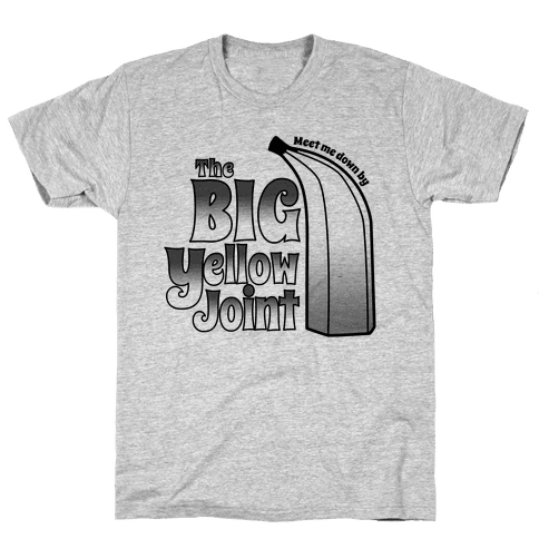 The Big Yellow Joint Mens T-Shirt