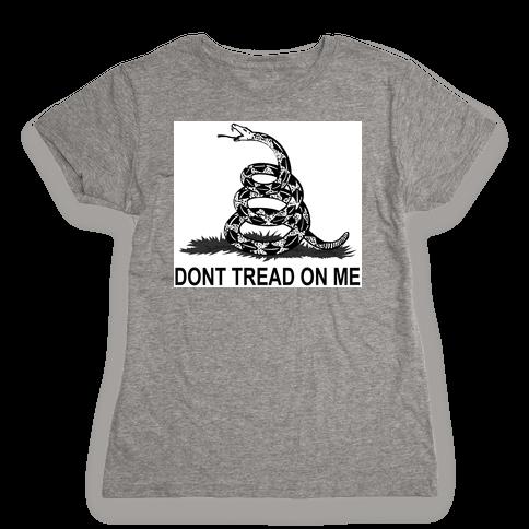 Gadsden Flag Womens T-Shirt