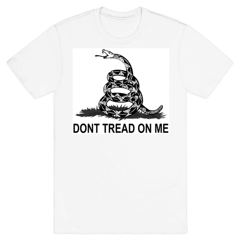 Gadsden Flag Mens T-Shirt