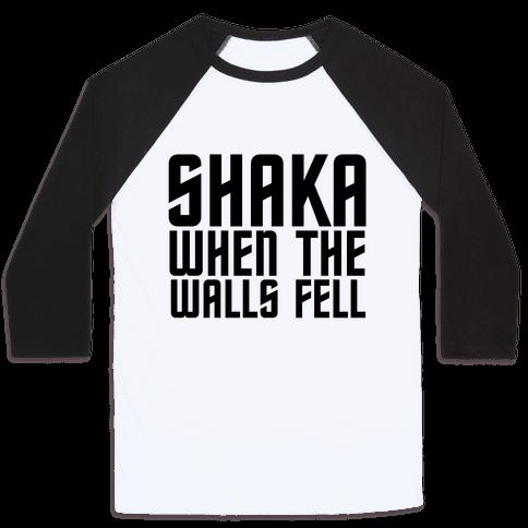 Shaka Baseball Tee