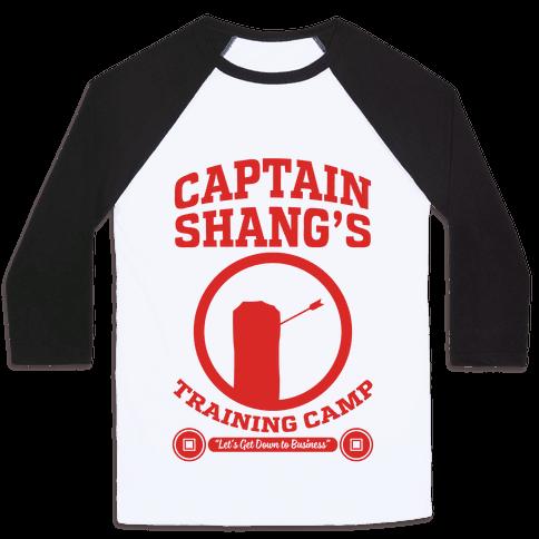Captain Shang's Training Camp Baseball Tee