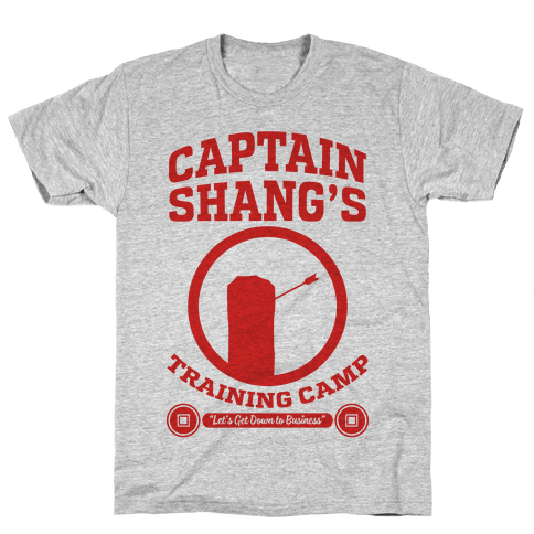 Captain Shang's Training Camp Mens T-Shirt