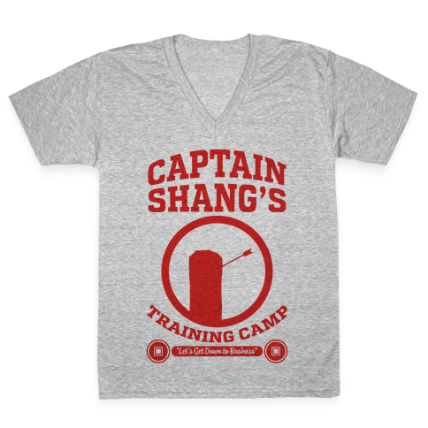 Captain Shang's Training Camp V-Neck Tee Shirt