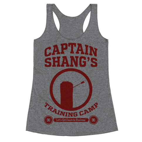 Captain Shang's Training Camp Racerback Tank Top