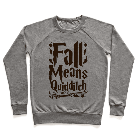 Fall Means Quidditch Pullover