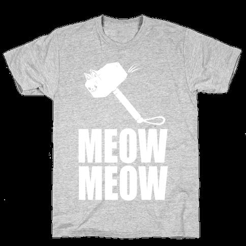 Meow Meow Mens T-Shirt