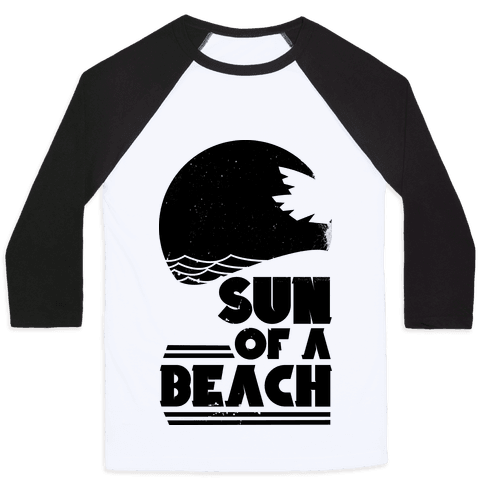 Sun of a Beach Baseball Tee