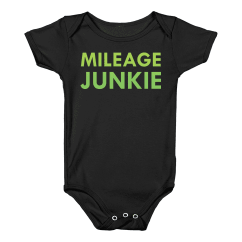 Mileage Junkie Baby Onesy