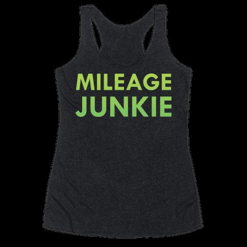 Mileage Junkie Racerback Tank Top