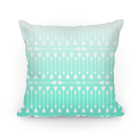 Bow Arrow Stripe Pattern Pillow