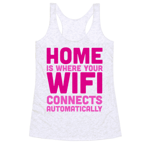 Home Racerback Tank Top