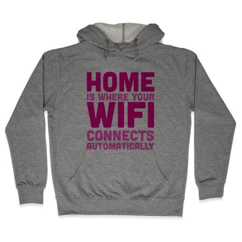 Home Hooded Sweatshirt