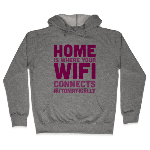 Home Hooded Sweatshirt