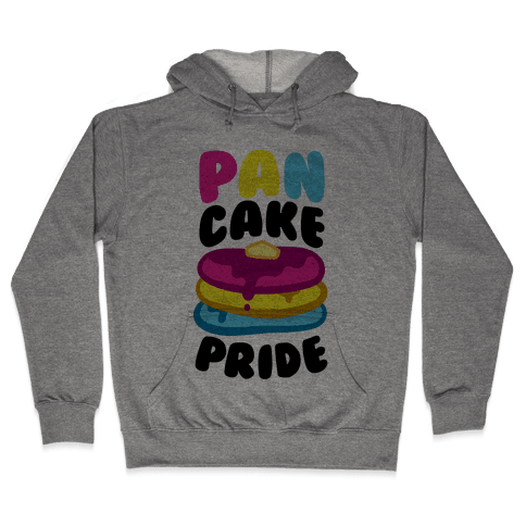 Pan Cake Pride Hooded Sweatshirt