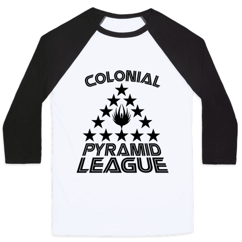 Colonial Pyramid League Baseball Tee
